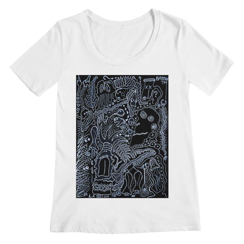 Scarface Women's Regular Scoop Neck by Baston's T-Shirt Emporium!