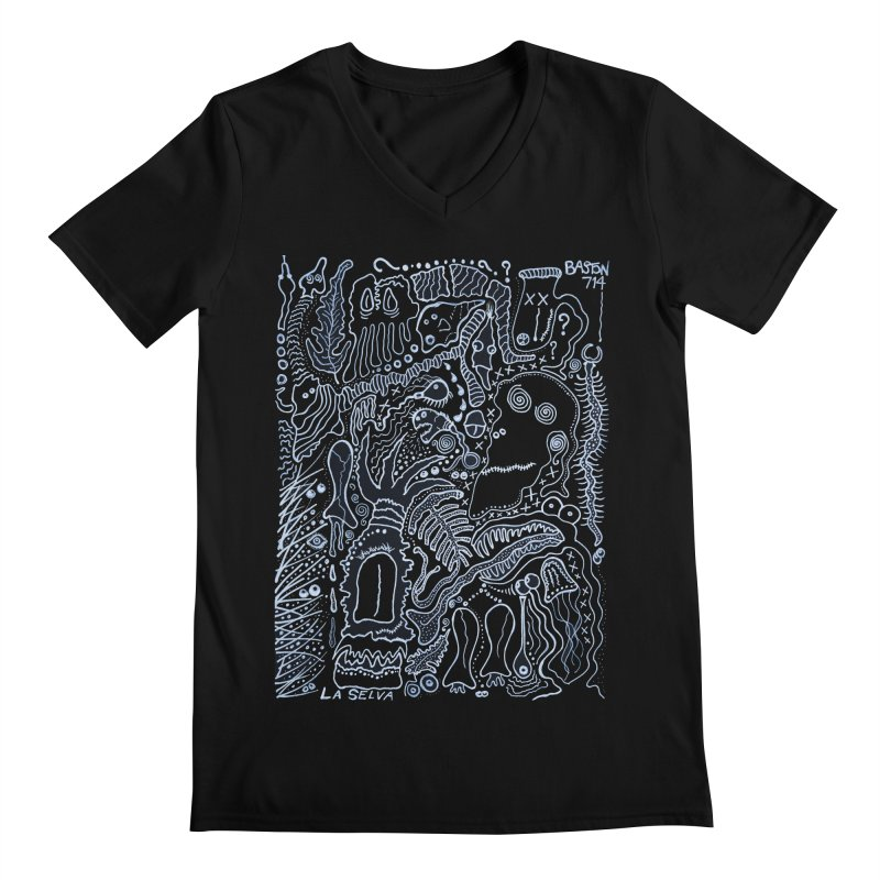 Scarface Men's V-Neck by Baston's T-Shirt Emporium!