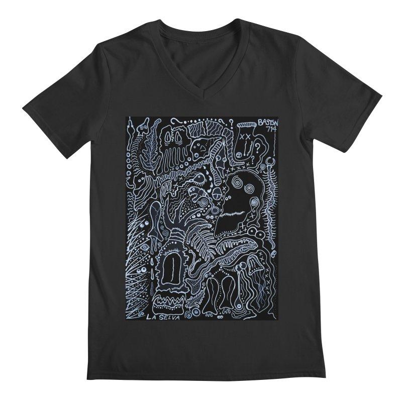 Scarface Men's Regular V-Neck by Baston's T-Shirt Emporium!