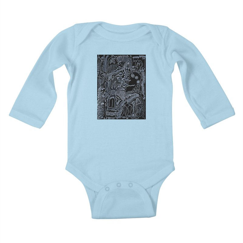 Scarface Kids Baby Longsleeve Bodysuit by Baston's T-Shirt Emporium!