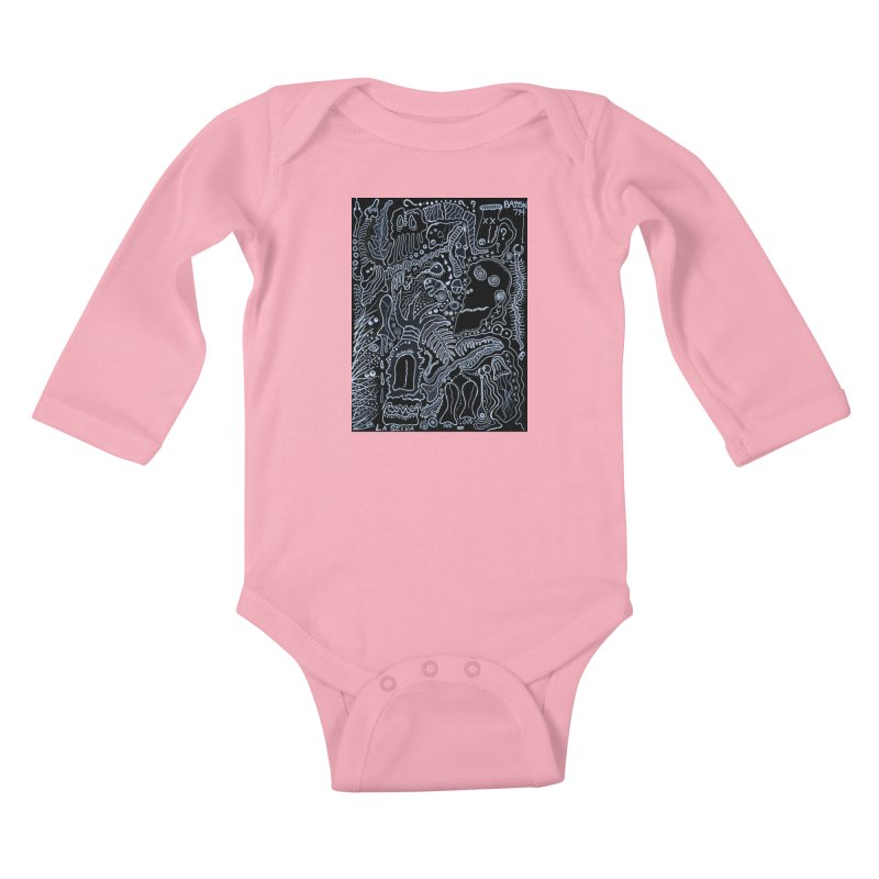 Scarface Kids Baby Longsleeve Bodysuit by Baston's T-Shirt Emporium!