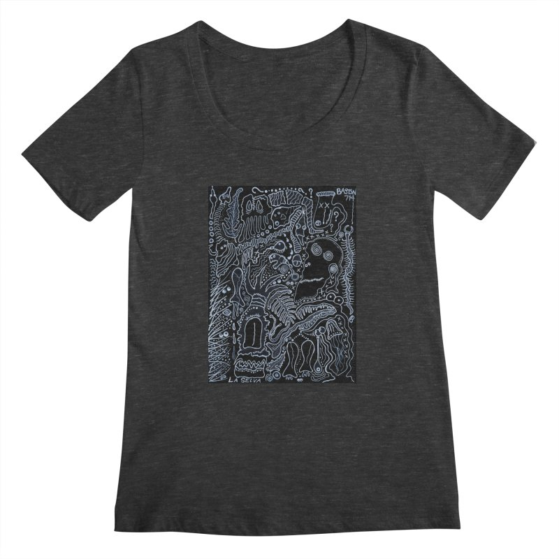 Scarface Women's Scoopneck by Baston's T-Shirt Emporium!
