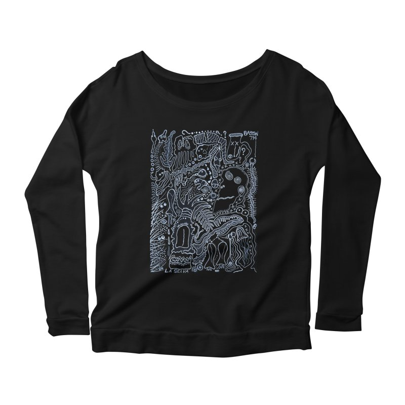Scarface Women's Longsleeve Scoopneck  by Baston's T-Shirt Emporium!
