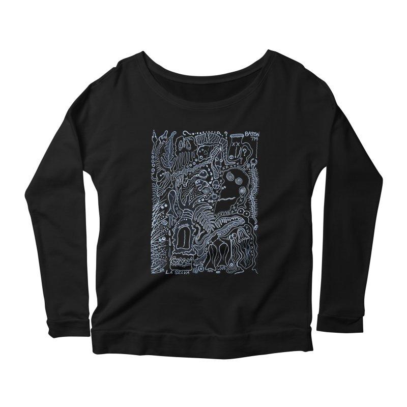 Scarface Women's Scoop Neck Longsleeve T-Shirt by Baston's T-Shirt Emporium!