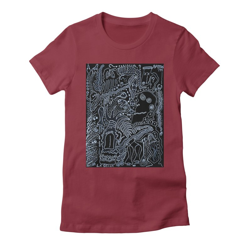 Scarface Women's Fitted T-Shirt by Baston's T-Shirt Emporium!