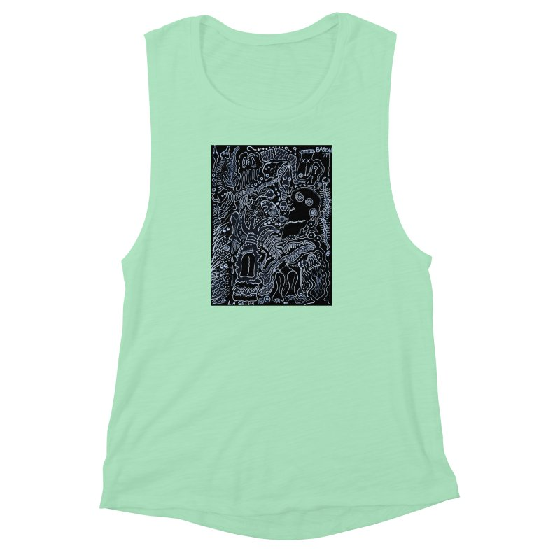 Scarface Women's Muscle Tank by Baston's T-Shirt Emporium!