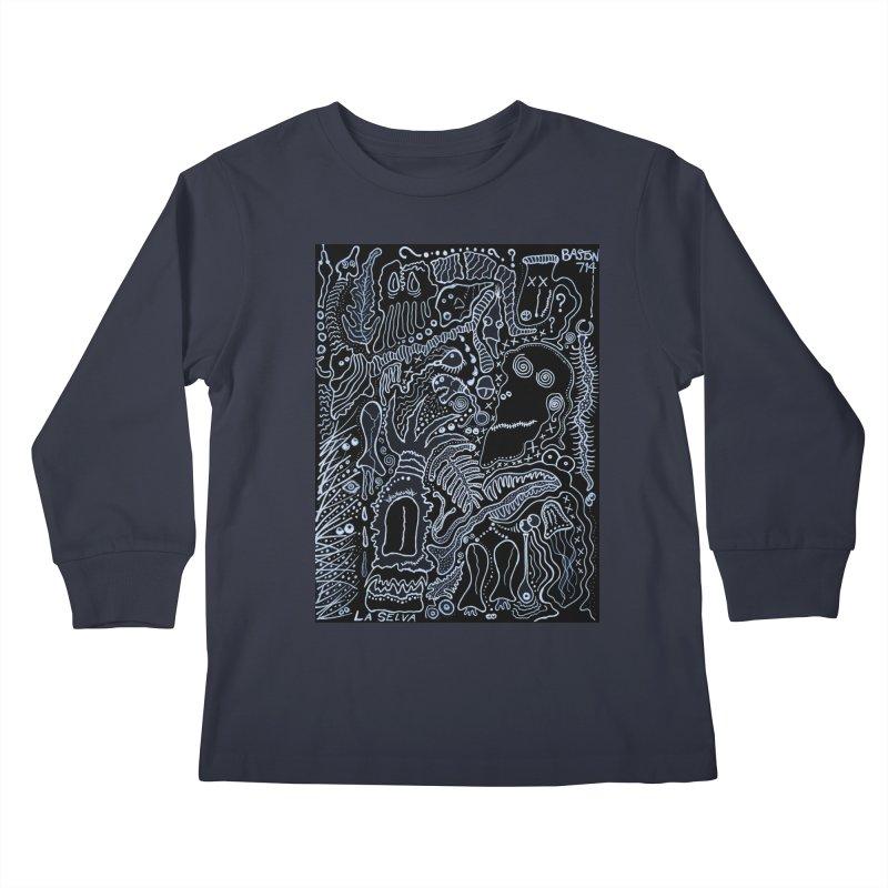 Scarface Kids Longsleeve T-Shirt by Baston's T-Shirt Emporium!