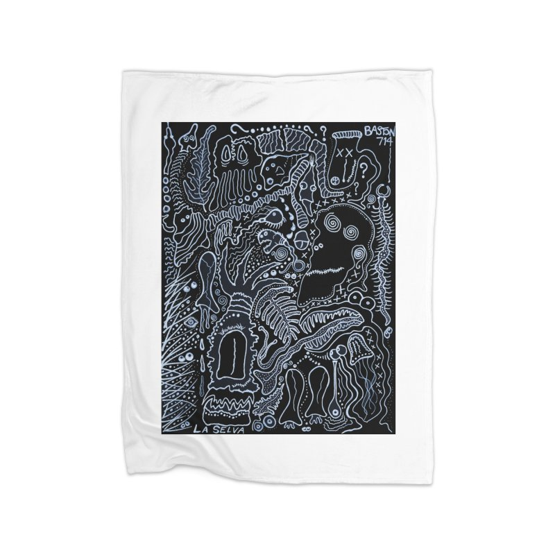 Scarface Home Fleece Blanket Blanket by Baston's T-Shirt Emporium!