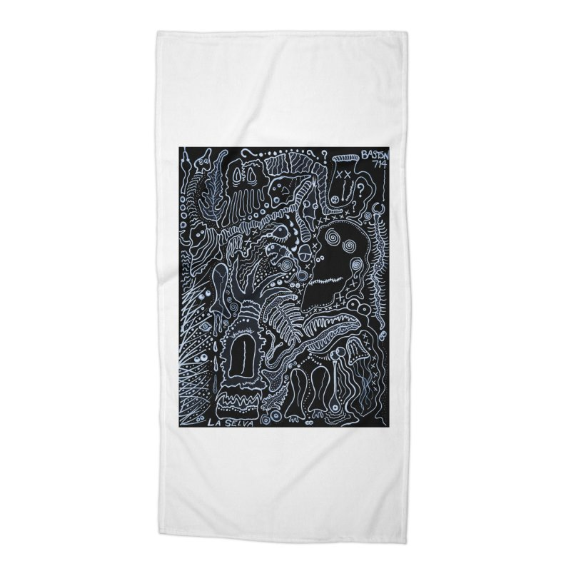 Scarface Accessories Beach Towel by Baston's T-Shirt Emporium!