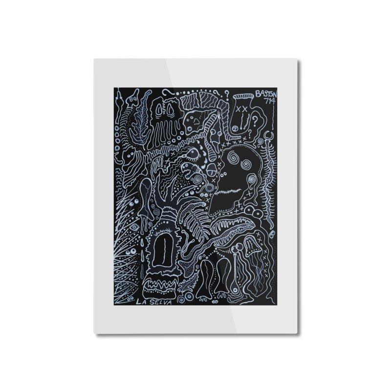 Scarface Home Mounted Aluminum Print by Baston's T-Shirt Emporium!