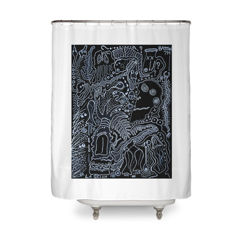 Scarface Home Shower Curtain by Baston's T-Shirt Emporium!