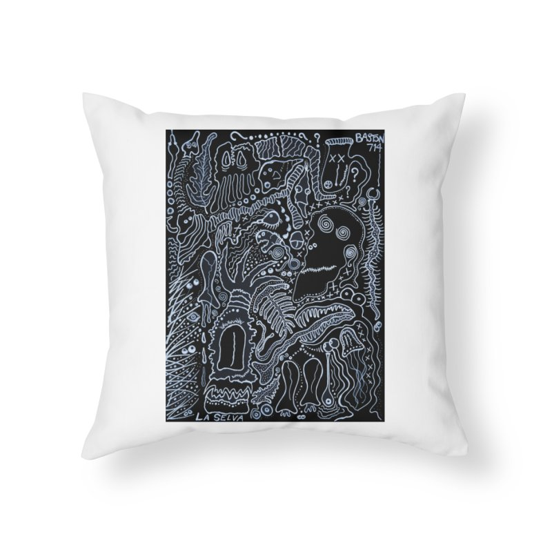 Scarface Home Throw Pillow by Baston's T-Shirt Emporium!