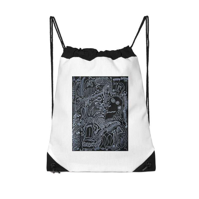 Scarface Accessories Drawstring Bag Bag by Baston's T-Shirt Emporium!