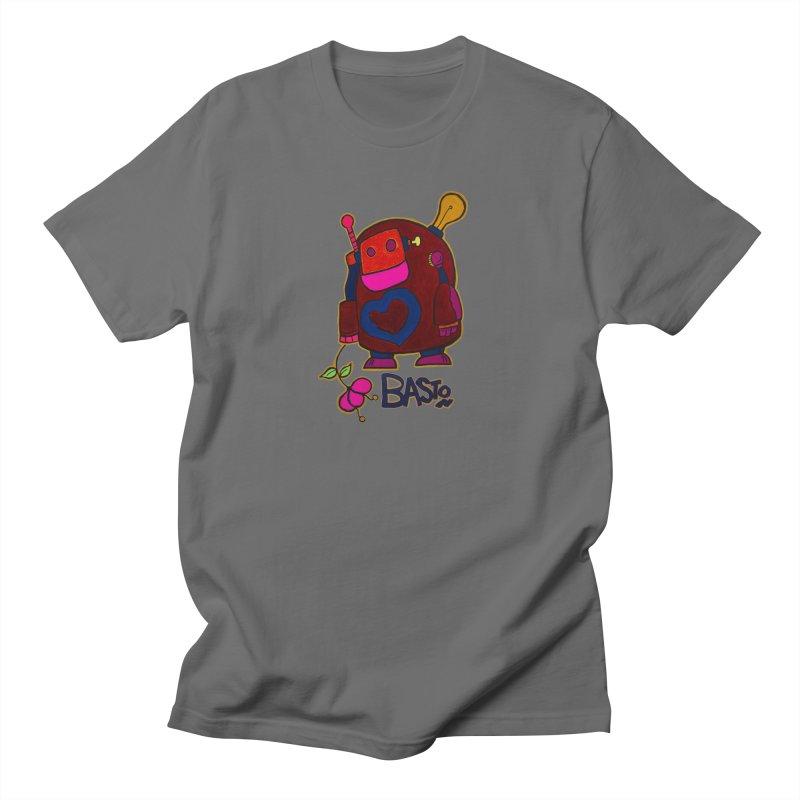 Robot Love 2 Men's T-Shirt by Baston's T-Shirt Emporium!
