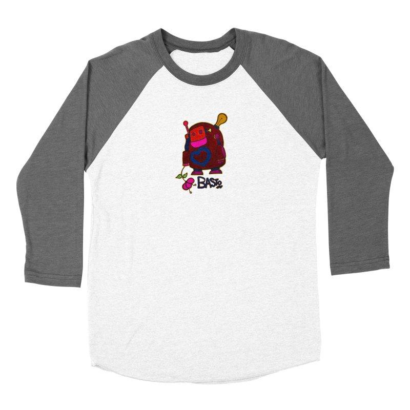 Robot Love 2 Women's Longsleeve T-Shirt by Baston's T-Shirt Emporium!