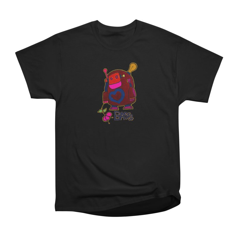 Robot Love 2 Men's Heavyweight T-Shirt by Baston's T-Shirt Emporium!