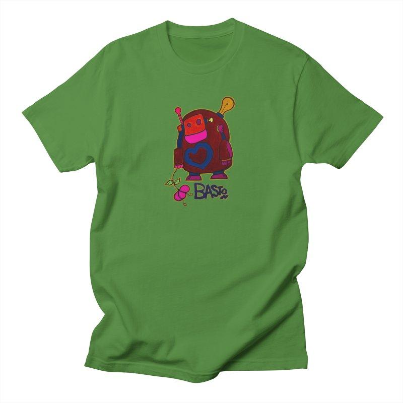 Robot Love 2 Women's Unisex T-Shirt by Baston's T-Shirt Emporium!