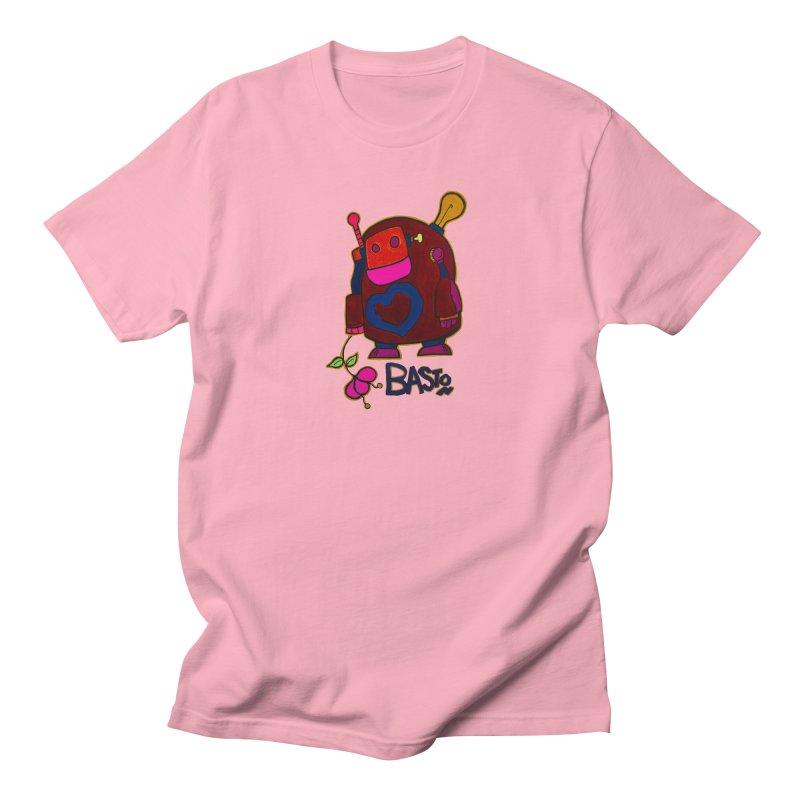 Robot Love 2 Men's Regular T-Shirt by Baston's T-Shirt Emporium!