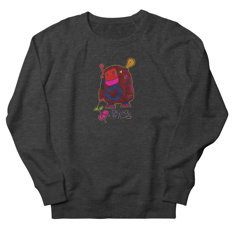 Robot Love 2 Men's Sweatshirt by Baston's T-Shirt Emporium!