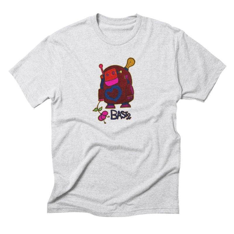 Robot Love 2 Men's Triblend T-Shirt by Baston's T-Shirt Emporium!