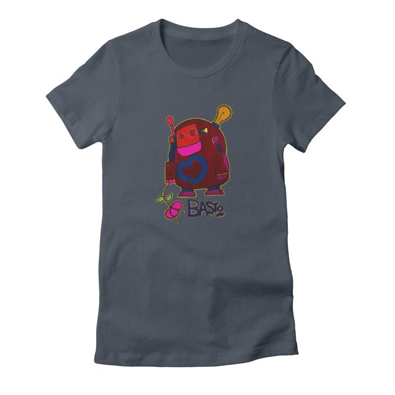 Robot Love 2 Women's T-Shirt by Baston's T-Shirt Emporium!