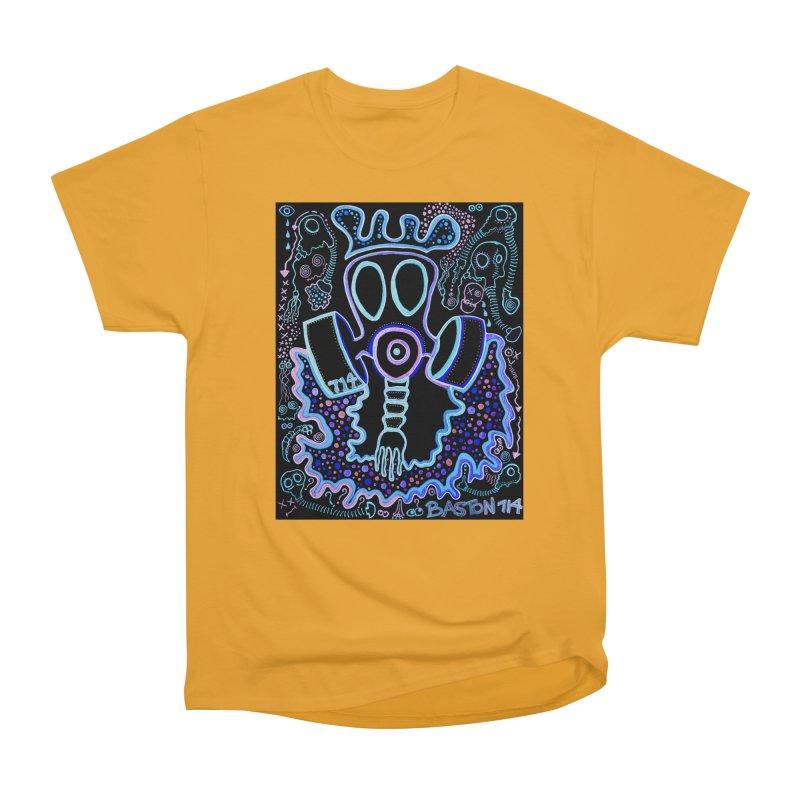 The Traveler Men's Heavyweight T-Shirt by Baston's T-Shirt Emporium!