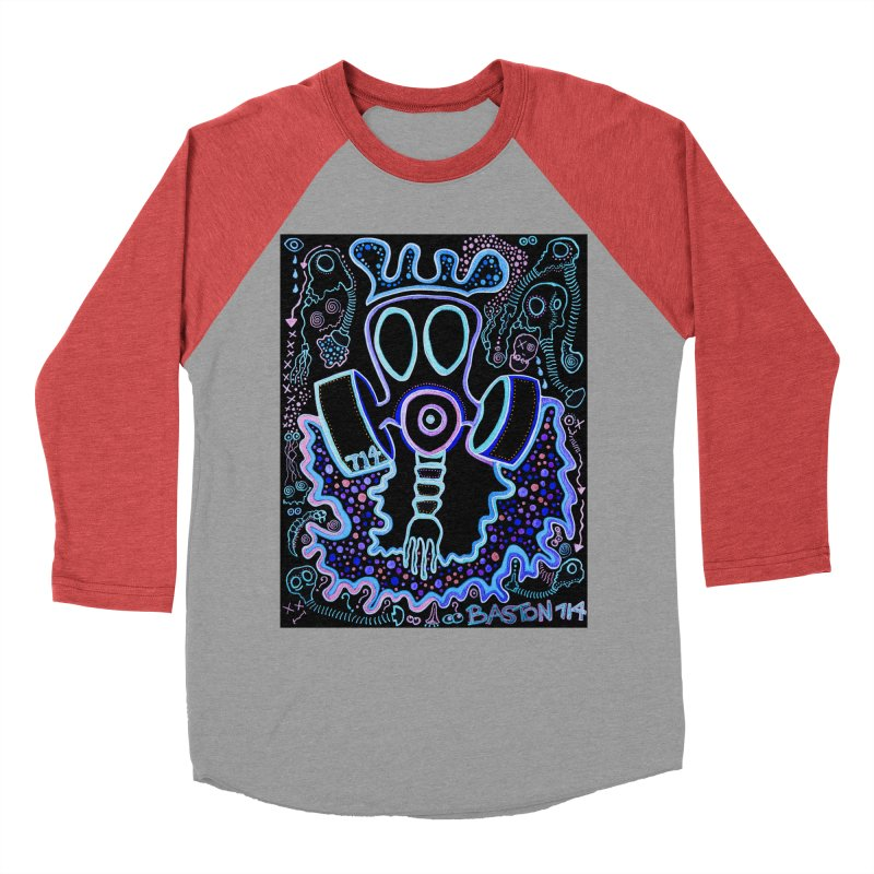 The Traveler Women's Baseball Triblend Longsleeve T-Shirt by Baston's T-Shirt Emporium!