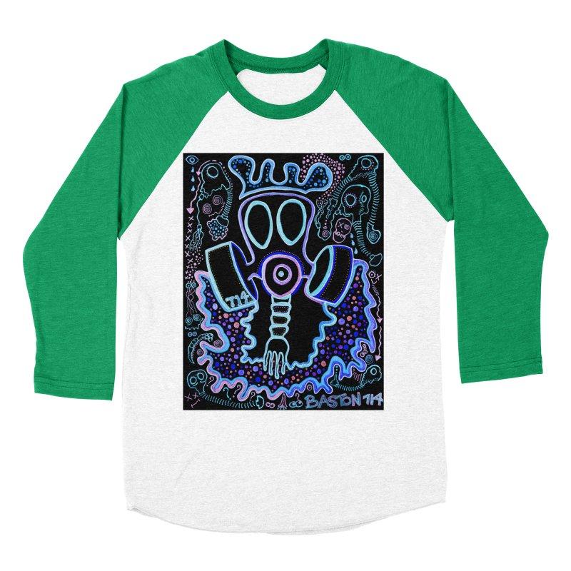 The Traveler Men's Baseball Triblend Longsleeve T-Shirt by Baston's T-Shirt Emporium!
