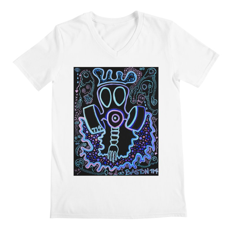 The Traveler Men's V-Neck by Baston's T-Shirt Emporium!