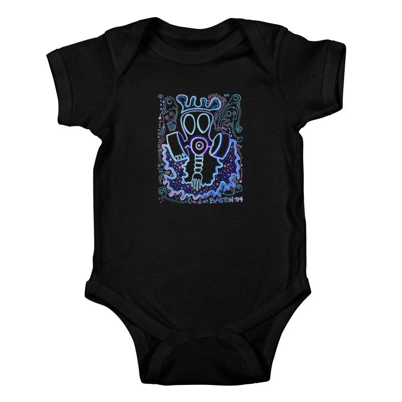The Traveler Kids Baby Bodysuit by Baston's T-Shirt Emporium!
