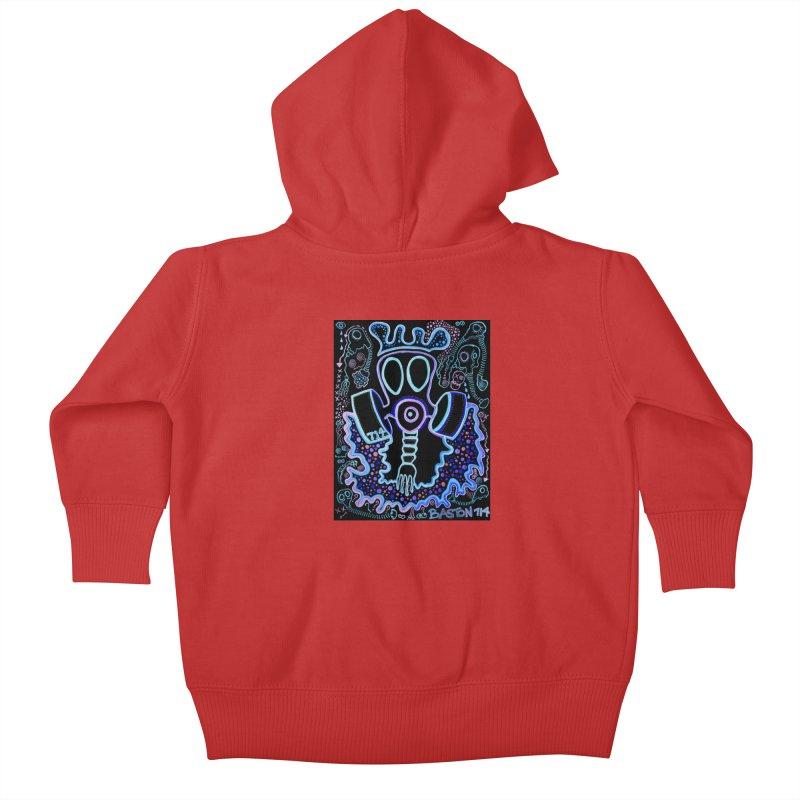 The Traveler Kids Baby Zip-Up Hoody by Baston's T-Shirt Emporium!