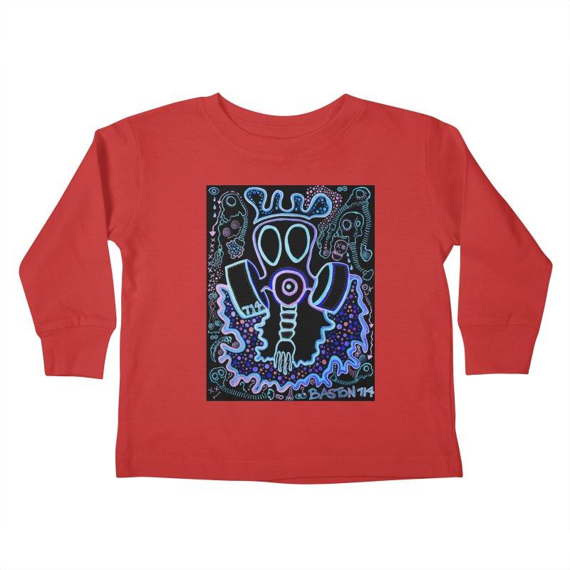 The Traveler Kids Toddler Longsleeve T-Shirt by Baston's T-Shirt Emporium!