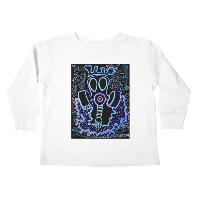 The Traveler Kids Toddler Longsleeve T-Shirt by Baston's T-Shirt Emporium!