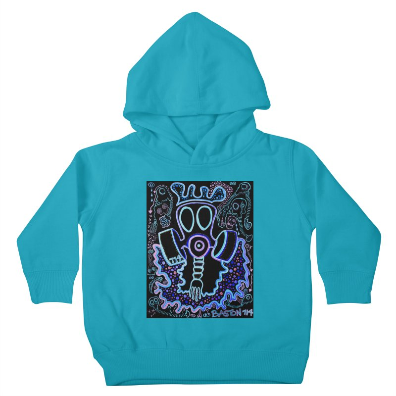 The Traveler Kids Toddler Pullover Hoody by Baston's T-Shirt Emporium!