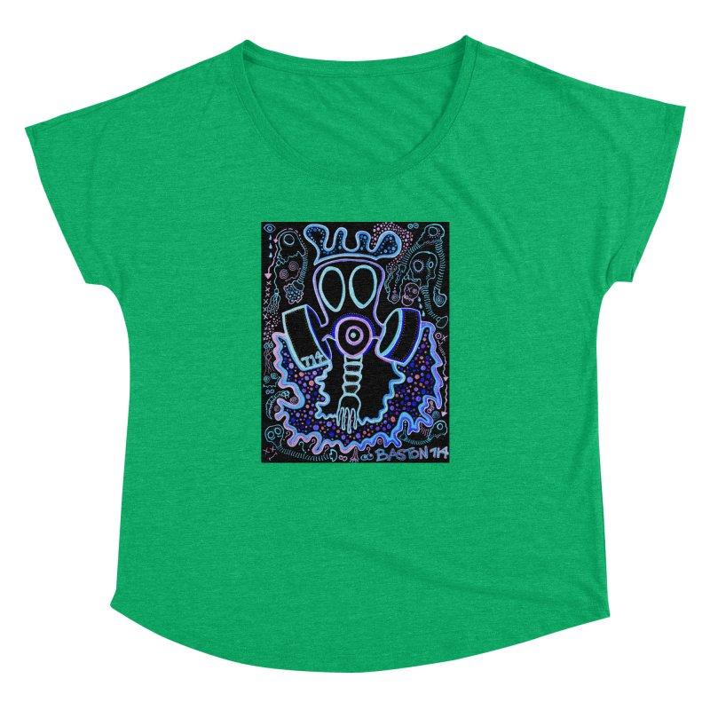 The Traveler Women's Dolman Scoop Neck by Baston's T-Shirt Emporium!