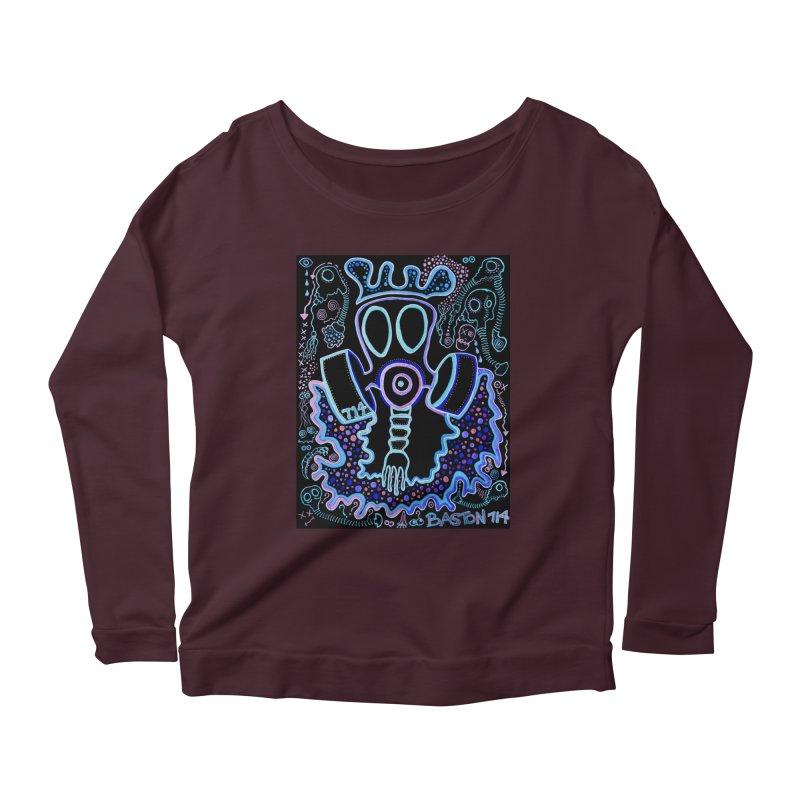 The Traveler Women's Scoop Neck Longsleeve T-Shirt by Baston's T-Shirt Emporium!