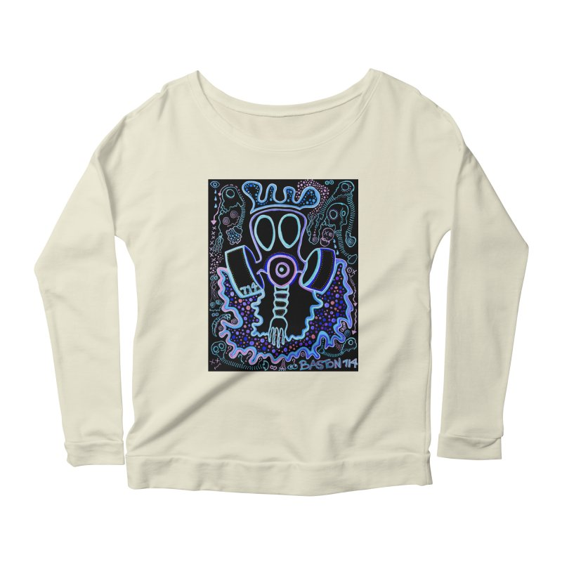 The Traveler Women's Scoop Neck Longsleeve T-Shirt by Baston's T-Shirt Emporium!