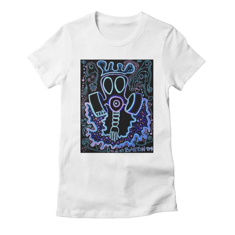 The Traveler Women's Fitted T-Shirt by Baston's T-Shirt Emporium!