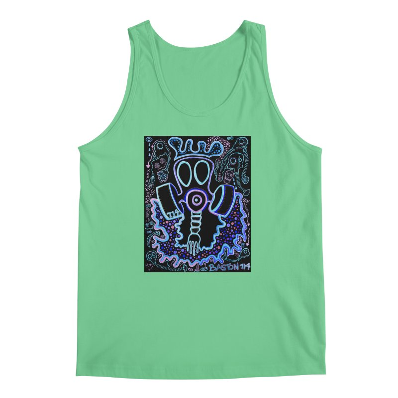 The Traveler Men's Tank by Baston's T-Shirt Emporium!