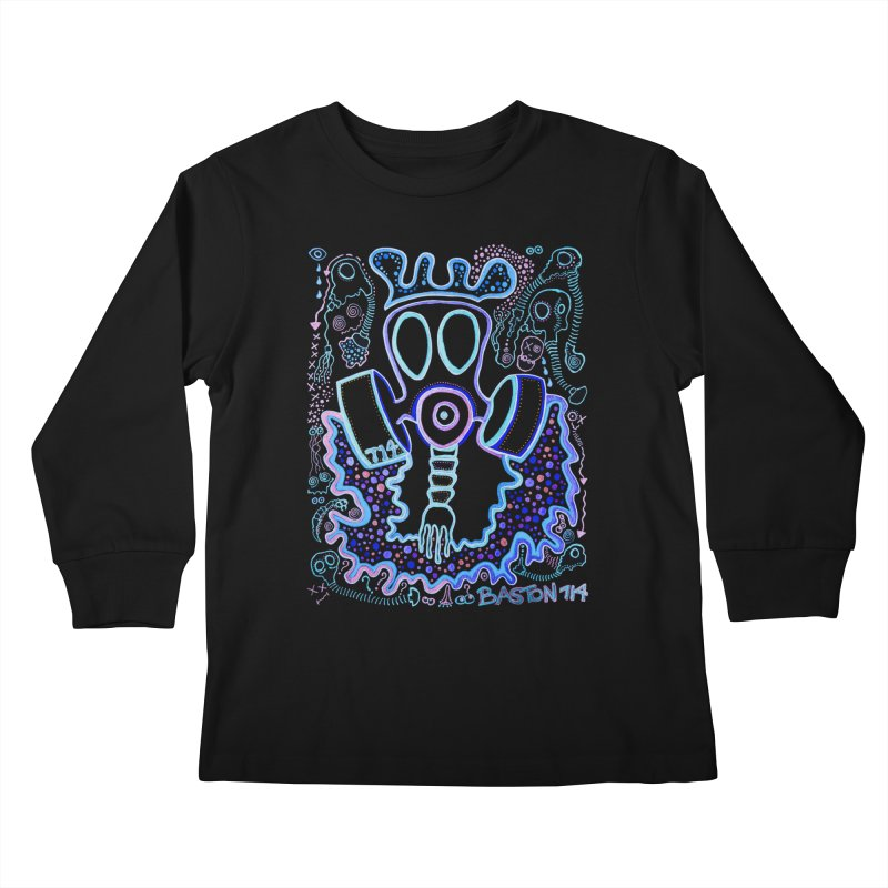 The Traveler Kids Longsleeve T-Shirt by Baston's T-Shirt Emporium!