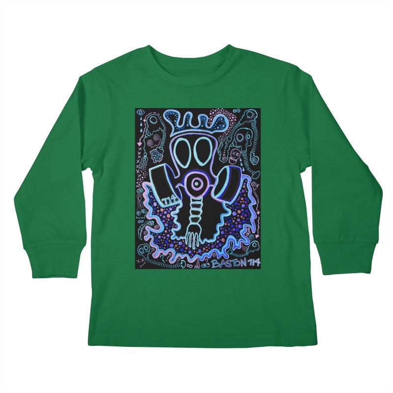 The Traveler Kids Longsleeve T-Shirt by Baston's T-Shirt Emporium!