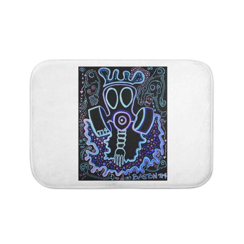 The Traveler Home Bath Mat by Baston's T-Shirt Emporium!