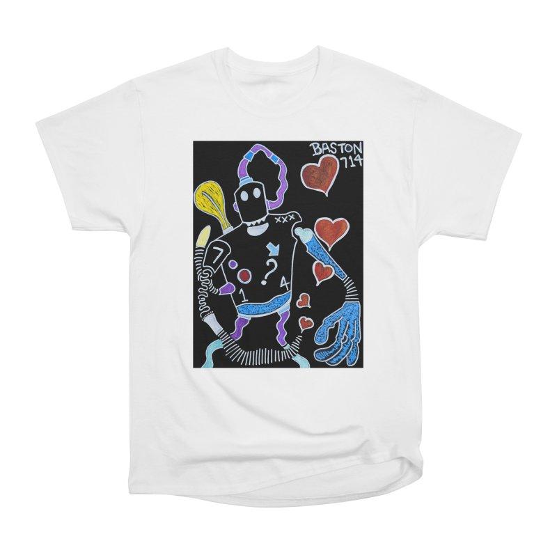 Robot Love Women's T-Shirt by Baston's T-Shirt Emporium!