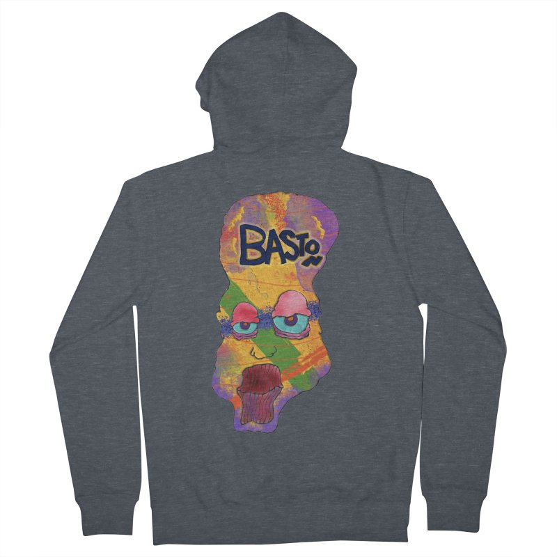 Big Head! Men's Zip-Up Hoody by Baston's T-Shirt Emporium!