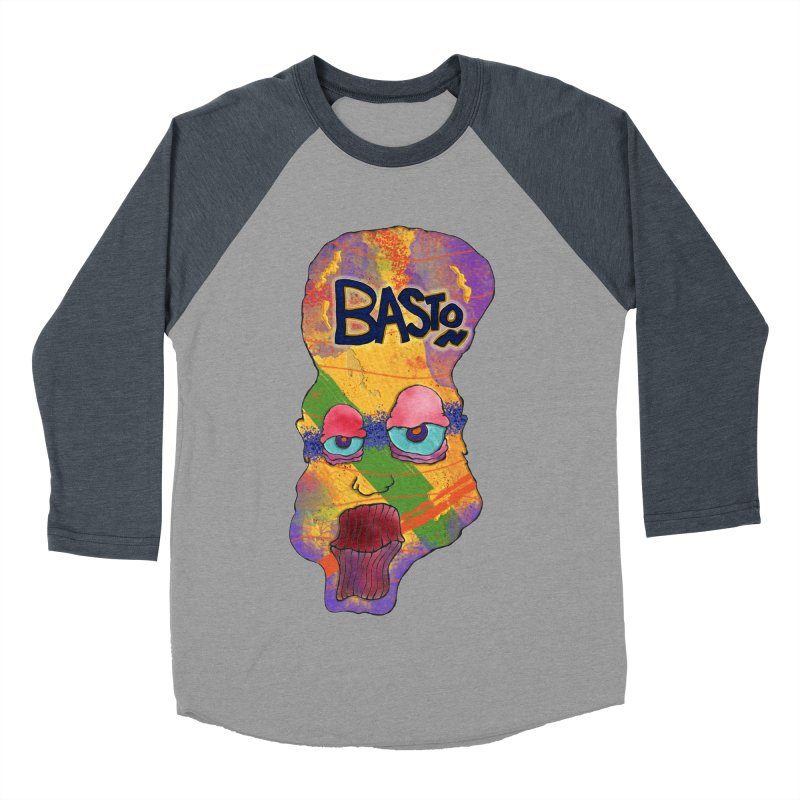 Big Head! Women's Baseball Triblend Longsleeve T-Shirt by Baston's T-Shirt Emporium!