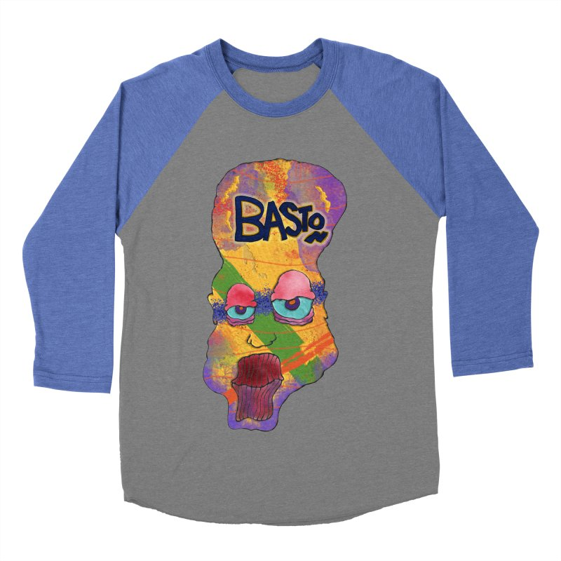 Big Head! Men's Baseball Triblend Longsleeve T-Shirt by Baston's T-Shirt Emporium!