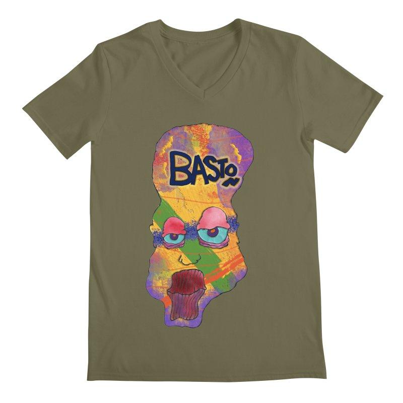 Big Head! Men's V-Neck by Baston's T-Shirt Emporium!