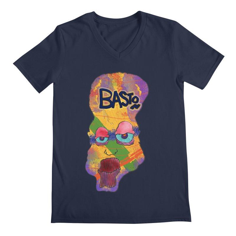 Big Head! Men's Regular V-Neck by Baston's T-Shirt Emporium!