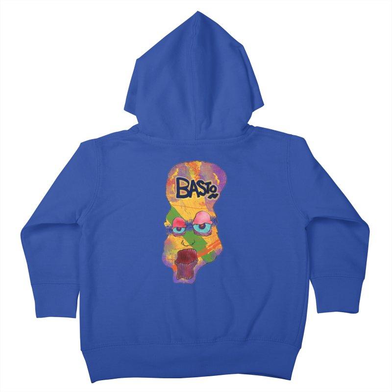 Big Head! Kids Toddler Zip-Up Hoody by Baston's T-Shirt Emporium!