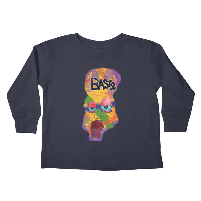 Big Head! Kids Toddler Longsleeve T-Shirt by Baston's T-Shirt Emporium!
